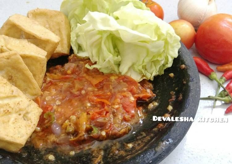 1Sambal Bawang Tomat Goreng