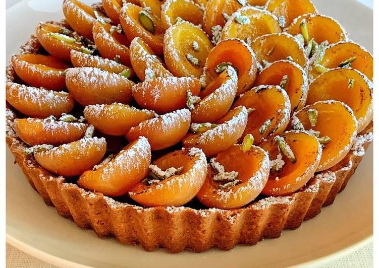 Façon la plus simple Faire Savoureux Tarte Rhubarbe – Abricots du chef Philippe Conticcini @4PassionFood