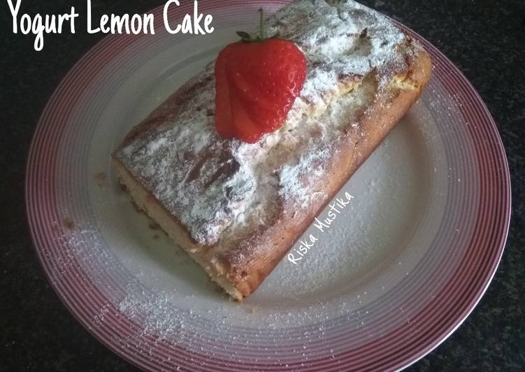 Recipe of Homemade Yogurt Lemon Cake