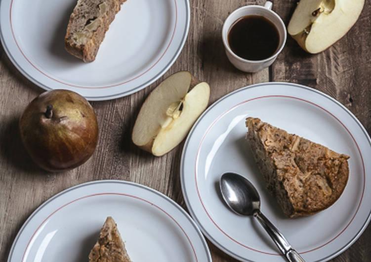Recette Appétissante Cake pomme noisette