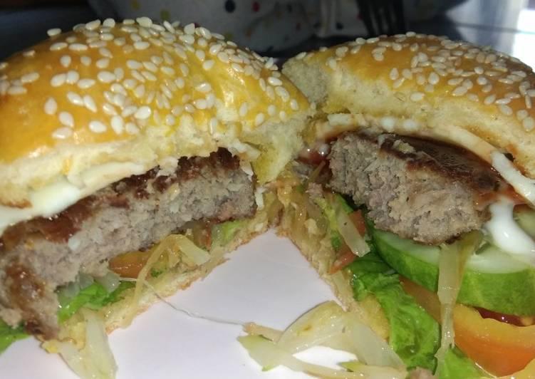 Daging Burger Homemade