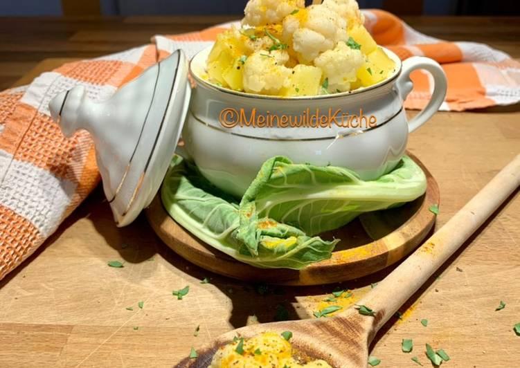 Blumenkohl Kartoffel Topf
