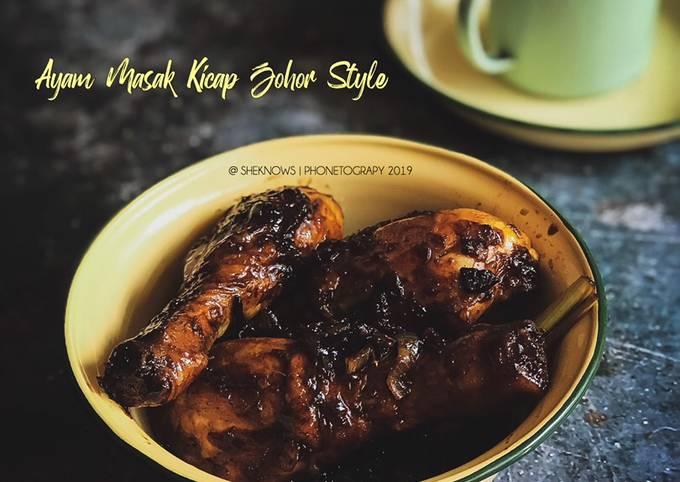 Ayam Masak Kicap Johor (Jawa Style)