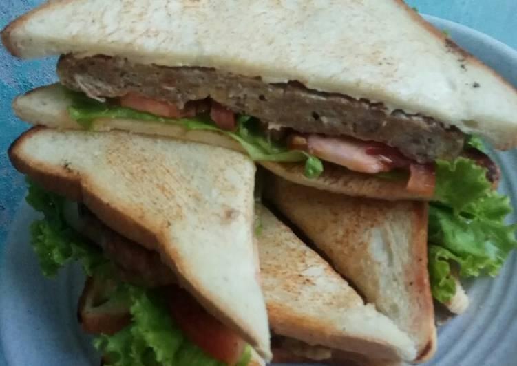 Sandwich dgn Burger Ayam