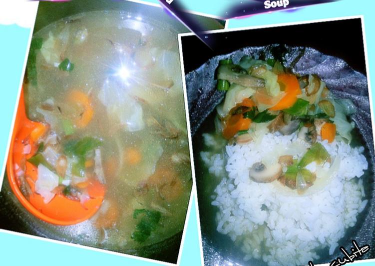 Sop Sayuran dan Champignon