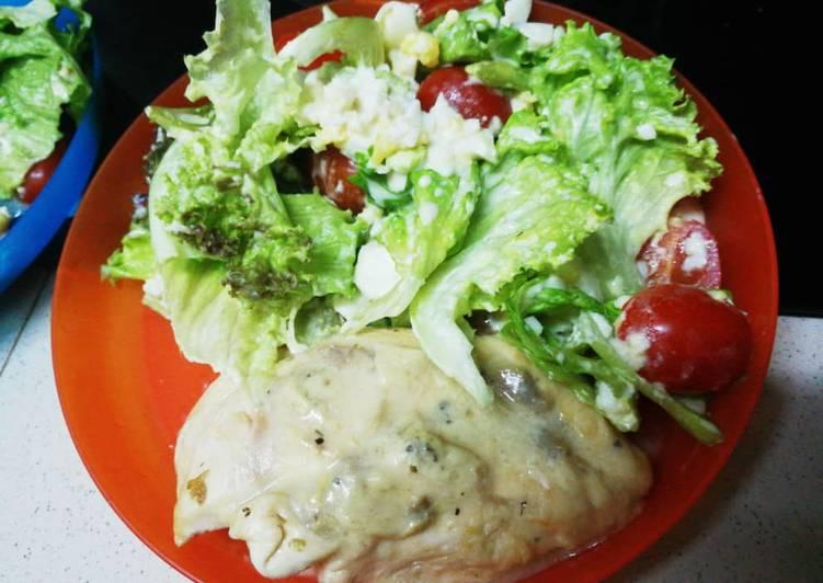 AF White Meat Campbell Steak - resepipouler.com
