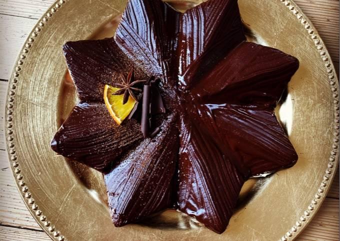 ☆Brownie aux Épices de Noël - Glaçage au Chocolat☆