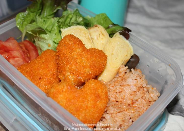 Easy Chicken Nuggets for Bento