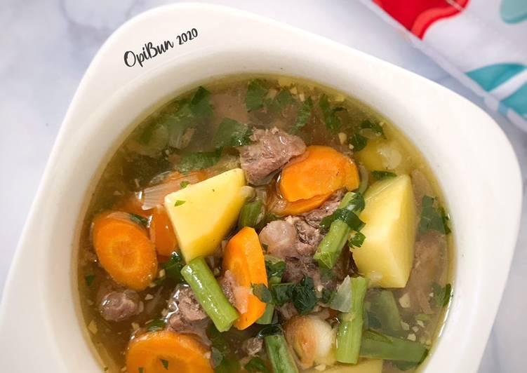 Cara Gampang Menyiapkan Sop Daging, Enak