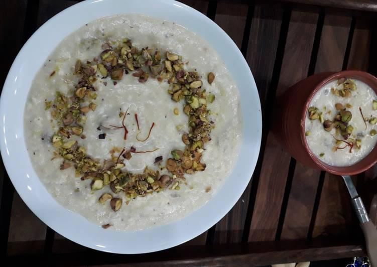 Recipe of Homemade Paneer makhana kheer