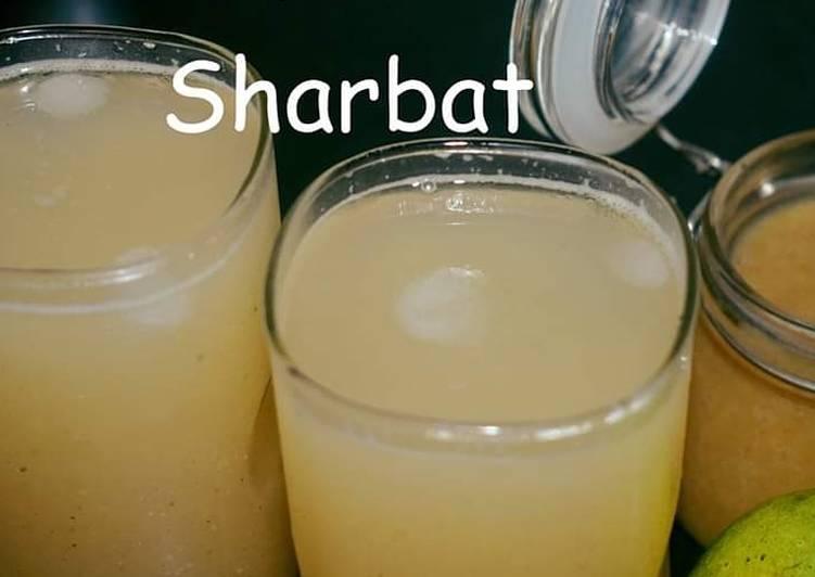 Aam pora sharbat (Charred mango drink)
