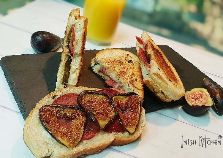 Step-by-Step Guide to Prepare Any-night-of-the-week Fig and Mortadella Sandwich