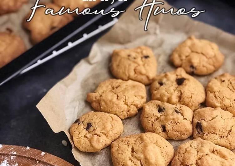 Cookies Air Fryer ala Famous Amos - resepipouler.com