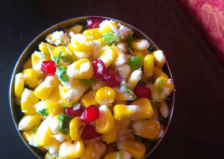 Steps to Make Homemade Corn kosambari