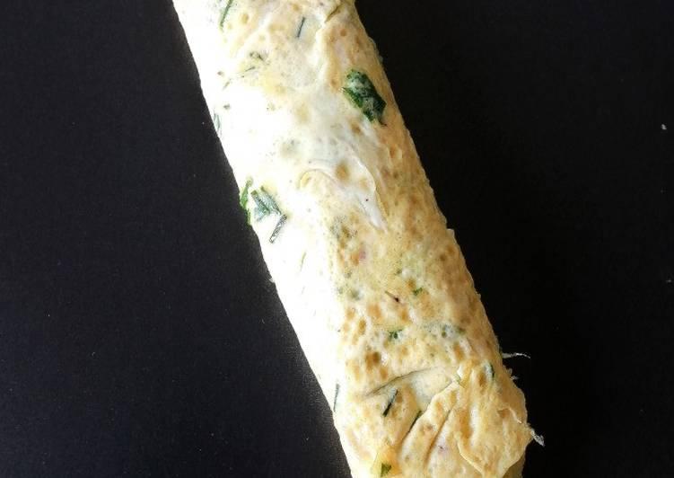 Recette Des Omelette roulée aux herbes fraîches