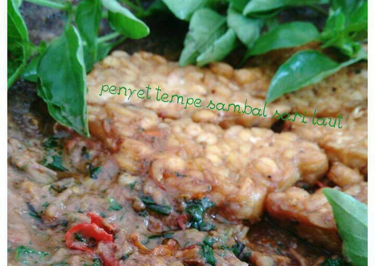 Penyet tempe sambel sari laut (#pr_tempe#)