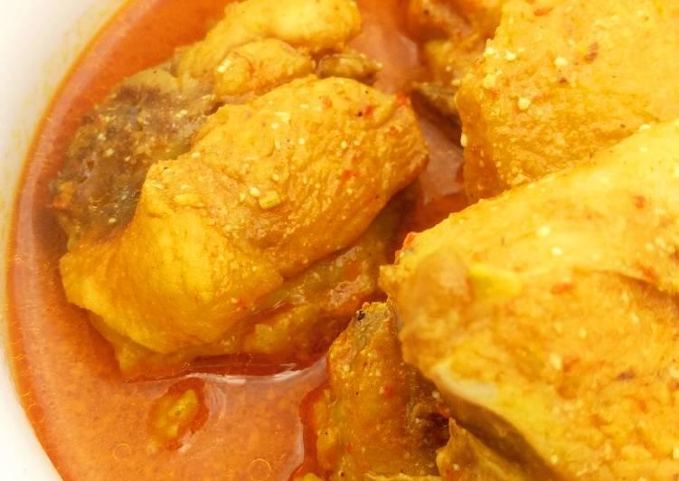 Resep Gulai Ayam Warung padang Yang Simple Sedap