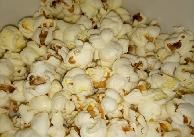 Homemade popcorns