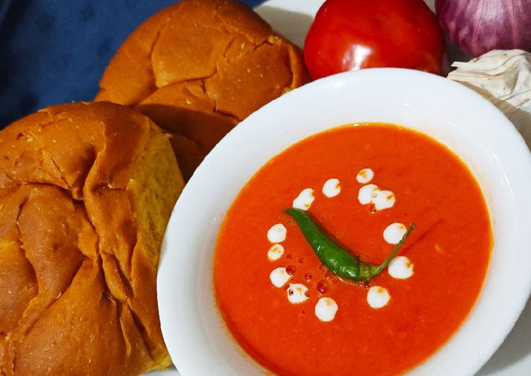 Steps to Prepare Quick Creamy tomato soup