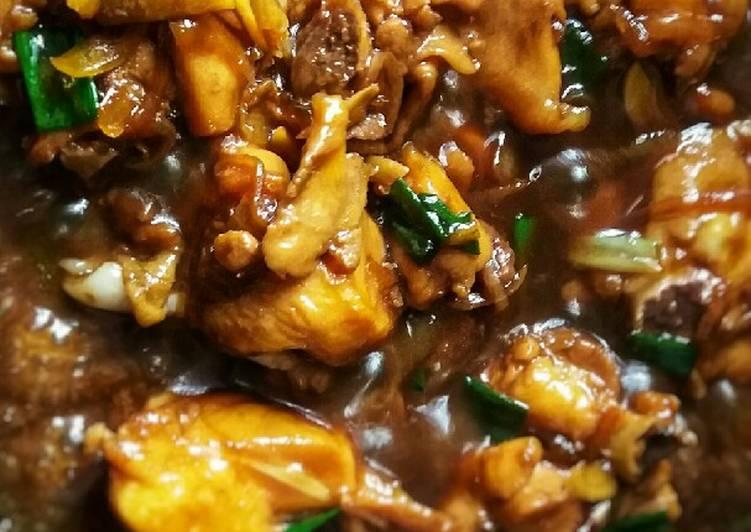 Cara membuat 🍗 Ayam Goreng Mentega Saus Tiram