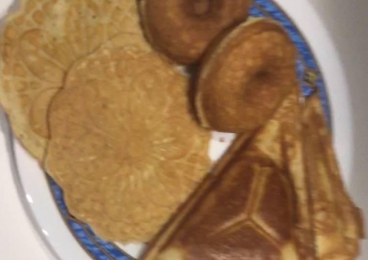 How to make waffles recipe