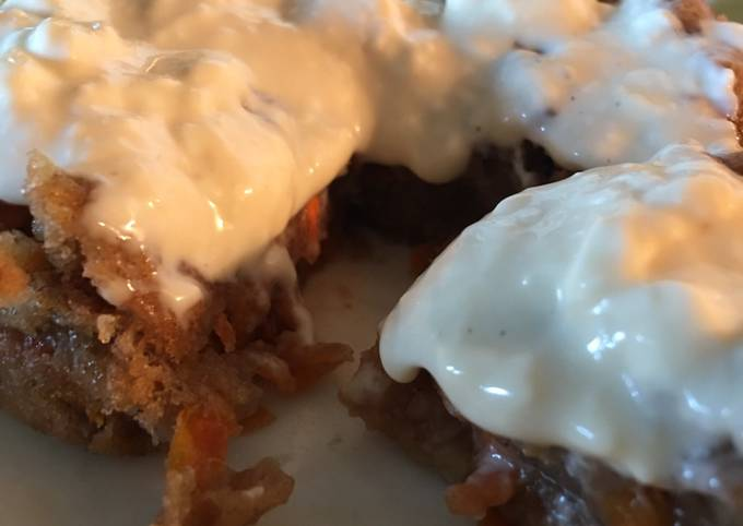Recipe: Delicious Low fat carrot mug cake with vegan options
