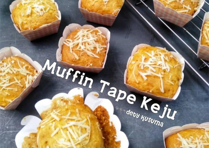 122. Muffin Tape Keju anti gagal