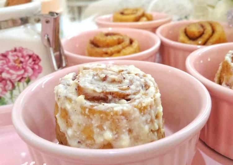Keto Cinnamon Rolls#ketopad_cp_baking #masakitusaya