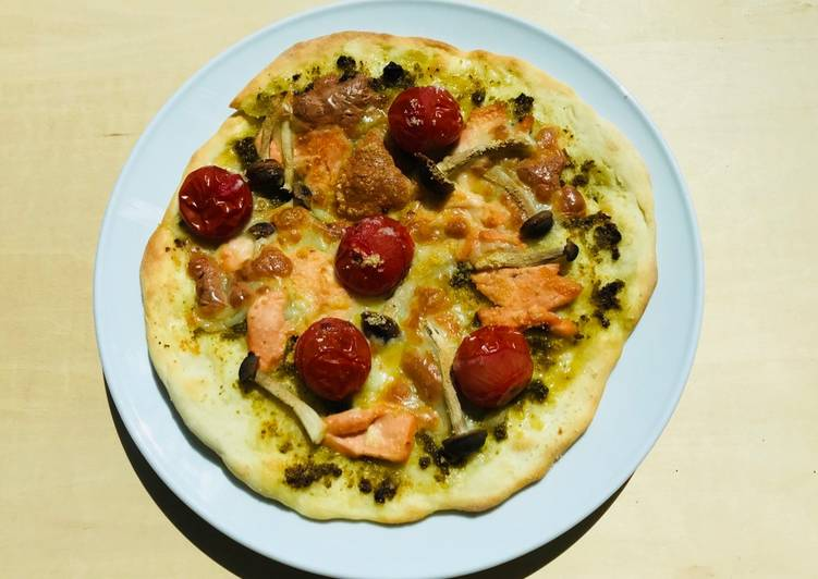 Recipe: Appetizing Pizza Salmone☆