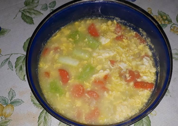 MPASI Sup Telur Enak Sederhana