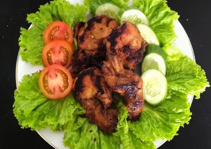 Langkah Mudah untuk Menyiapkan Ayam Bakar Teflon, Lezat