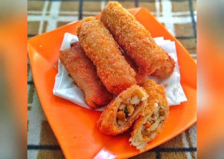 Risoles Kari Ayam Sayur Pedas - cookandrecipe.com