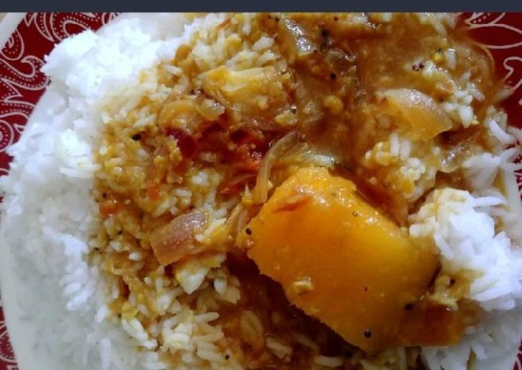 25 Minute Easiest Way to Make Summer Mango sambar