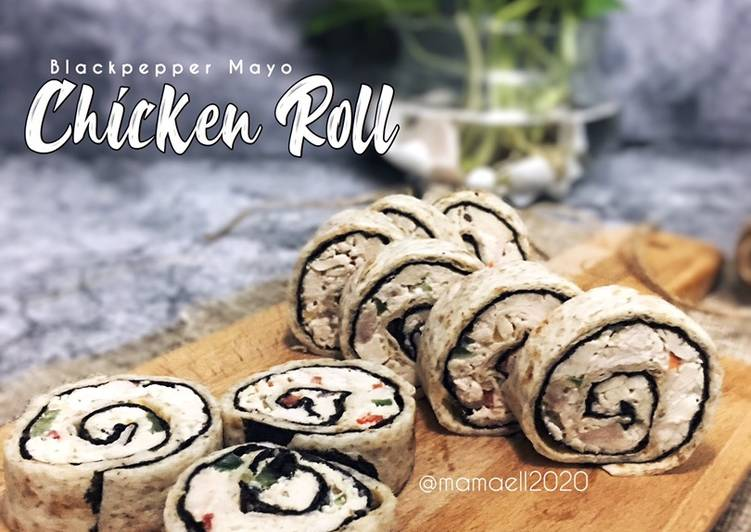 Blackpepper Mayo Chicken Roll - velavinkabakery.com