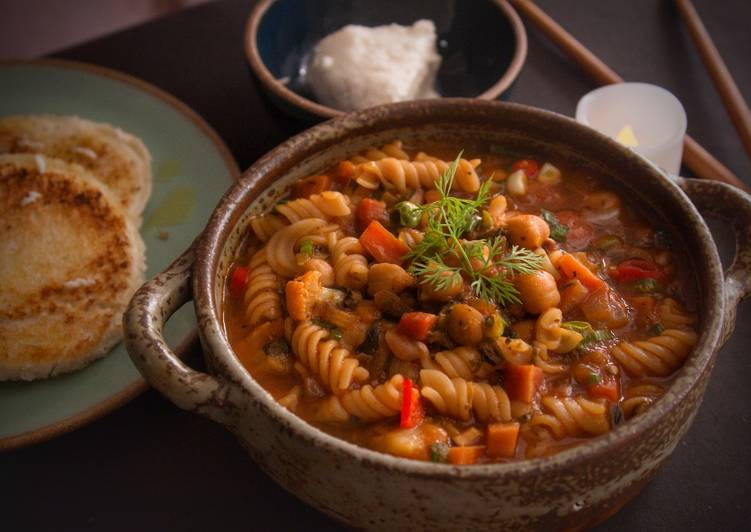 Indian Winter Minestrone
