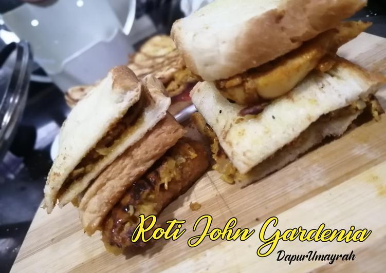 Cara Mudah Masak: Roti John Gardenia  Dirumah