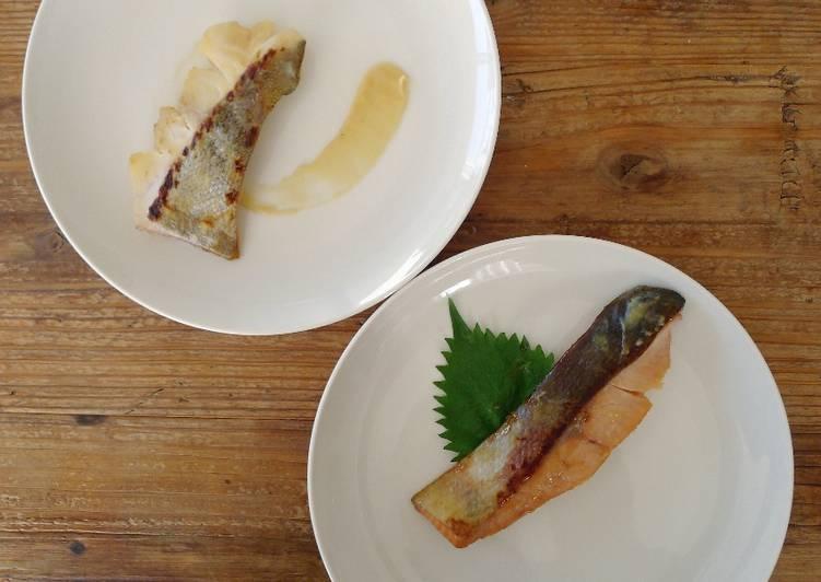 Kyoto saikyo yaki cod&salmon