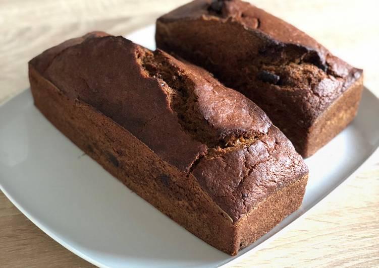 Les Meilleures Recettes de Banana Bread aux pépites de chocolats