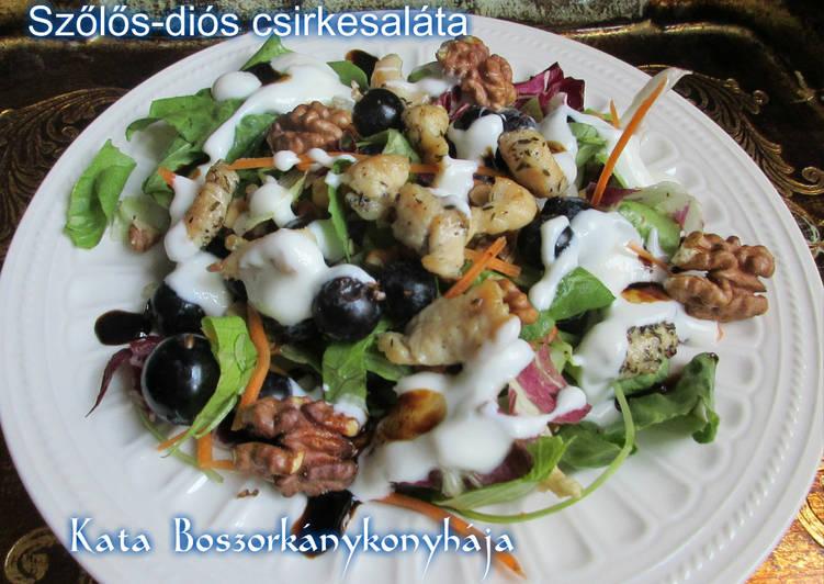 Egyszerű csirkesaláta kalória alatt - Recept | Femina
