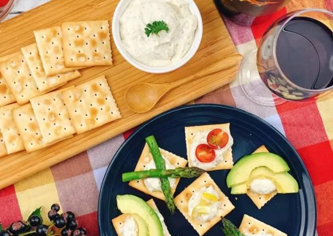 Just like cheese! Vegan tofu cream
