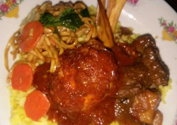 Sarapan nikmat: Nasi kuning very simple n cpt