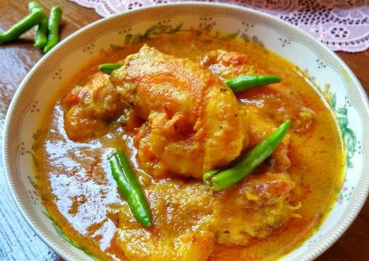 Prawn malai curry Choosing Healthy Fast Food