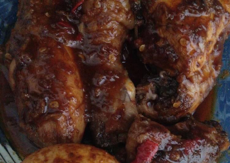 resep cara bikin Rendang ayam bumbu Indofood praktis