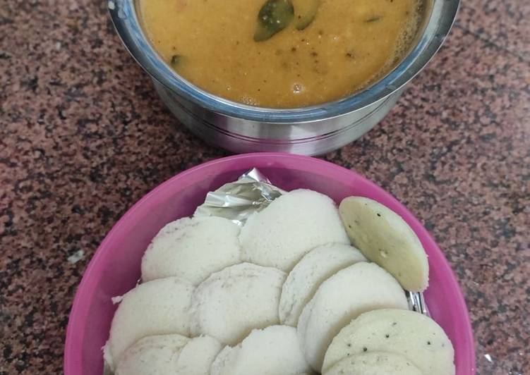 Semolina idli at home