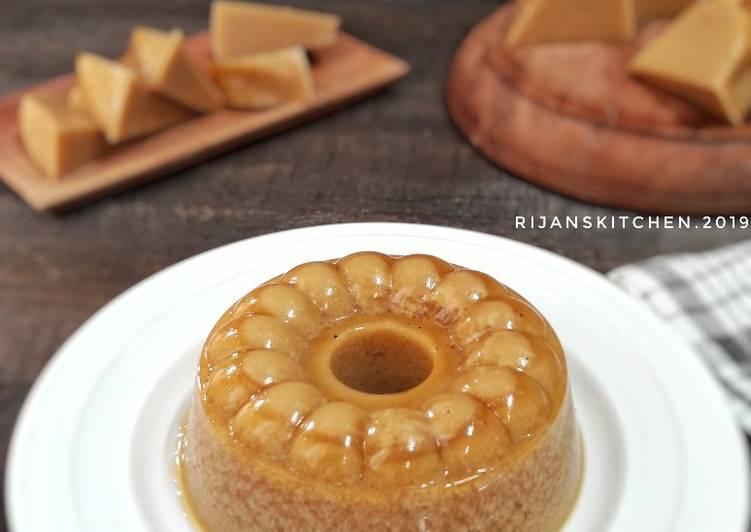 Resep Ga5 2 Pudding Lumut Gula Merah Si Simple Tanpa Telur