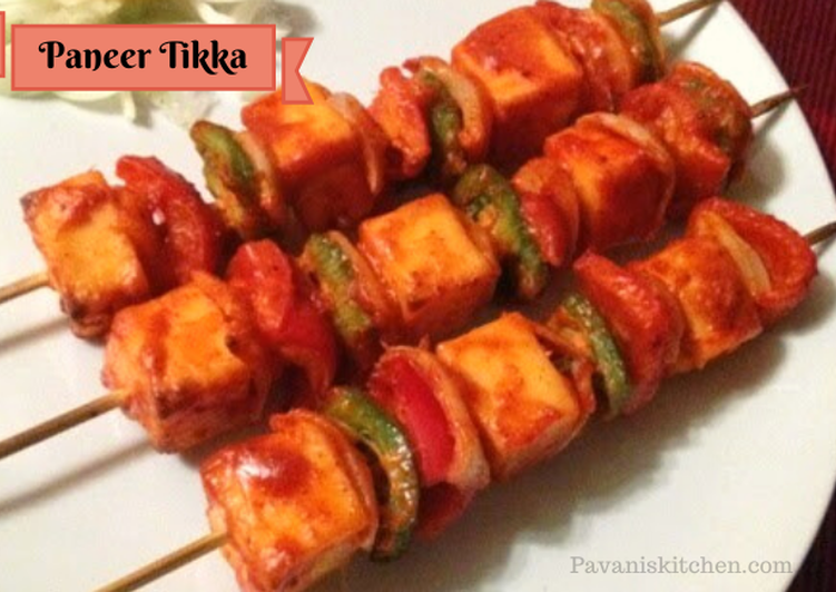 How to Prepare Homemade PANEER TIKKA | HOW TO MAKE PANEER TIKKA