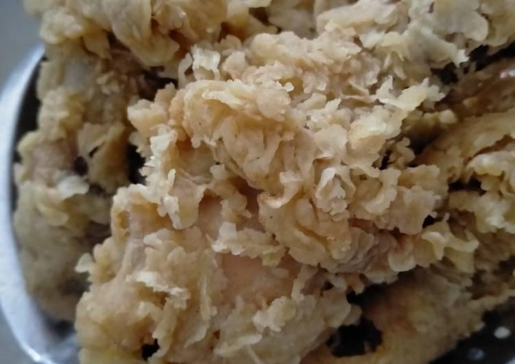 Fried Chicken ala Abang2 kaki lima S*BANA