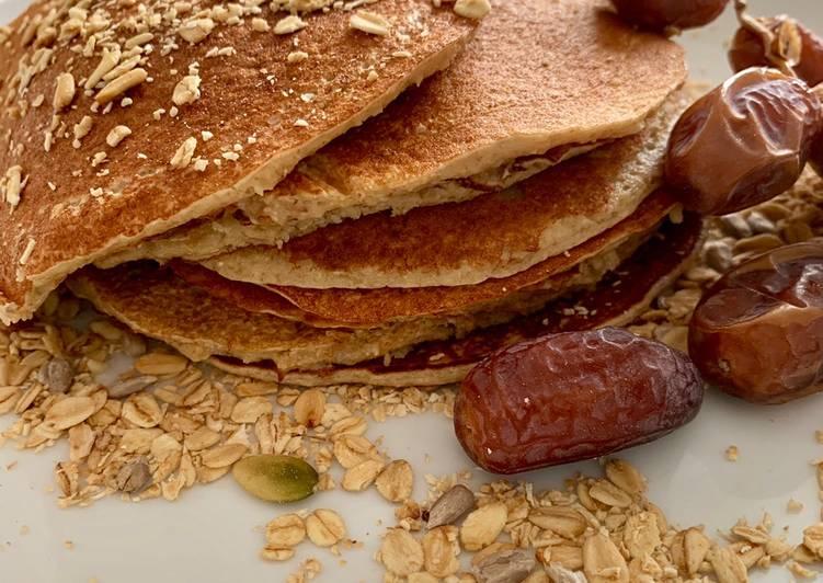 Tortitas americanas para un desayuno saludable