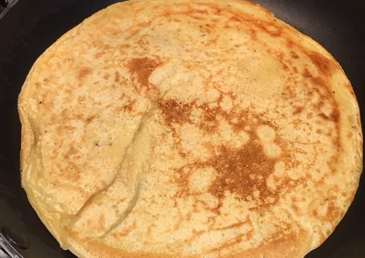 Easiest Way to Prepare Tastefully Chickpea Farinata (Pancake)