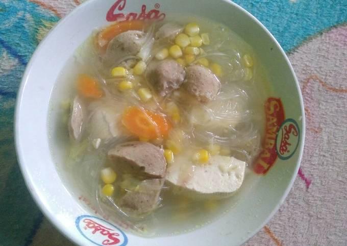 Sup Tahu Jagung